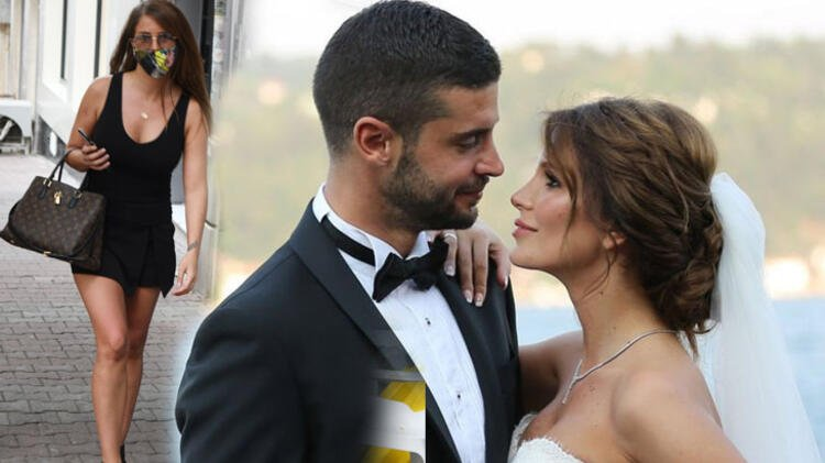 Merve Şarapçıoğlu'dan eski eşi Berk Oktay'a gönderme