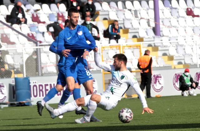 Ankara Keçiörengücü, sahasında Kocaelispor'a 2-1 mağlup oldu