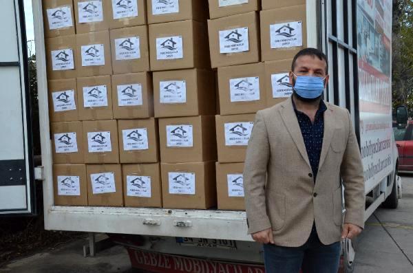 Gebze esnafından, İzmir'deki depremzedeler için gıda yardımı