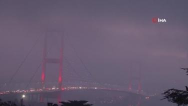 İstanbul'un bazı ilçelerinde sis etkili oldu