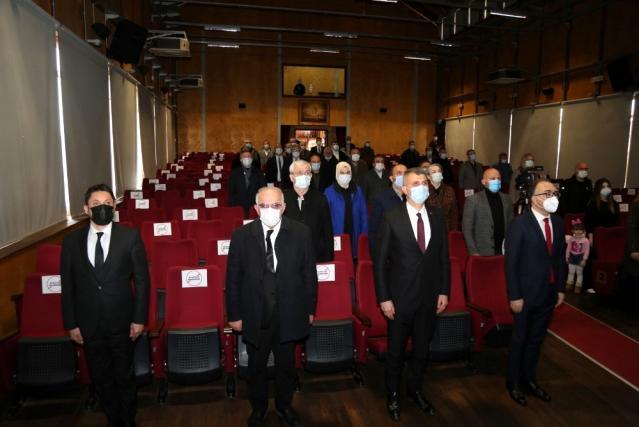 Gölcük'te İstiklal Marşı konulu konferans düzenlendi