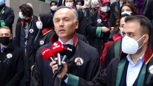 Hacze gittiği evin sahibi tarafından öldürülen avukat için meslektaşlarında açıklama