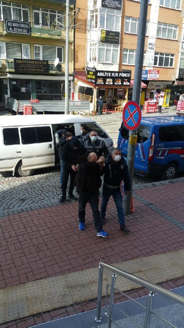 İş yerlerini soyan 6 şüpheli yakalandı