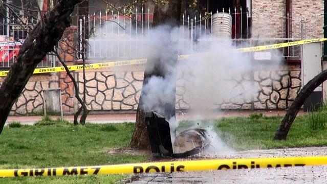 Bomba imha ekiplerinin patlattığı şüpheli valiz boş çıktı