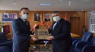 AA Sakarya Bölge Müdürü Velioğlu'ndan, Kocaeli Emniyet Müdürü Veysal Tipioğlu'na ziyaret