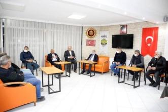 Başkan Söğüt, STK ziyaretlerine devam ediyor