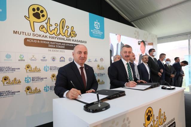 Büyükşehir ve 11 ilçe belediyesi sokak hayvanları için protokol imzaladı